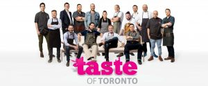 Taste of Toronto Chefs 2016
