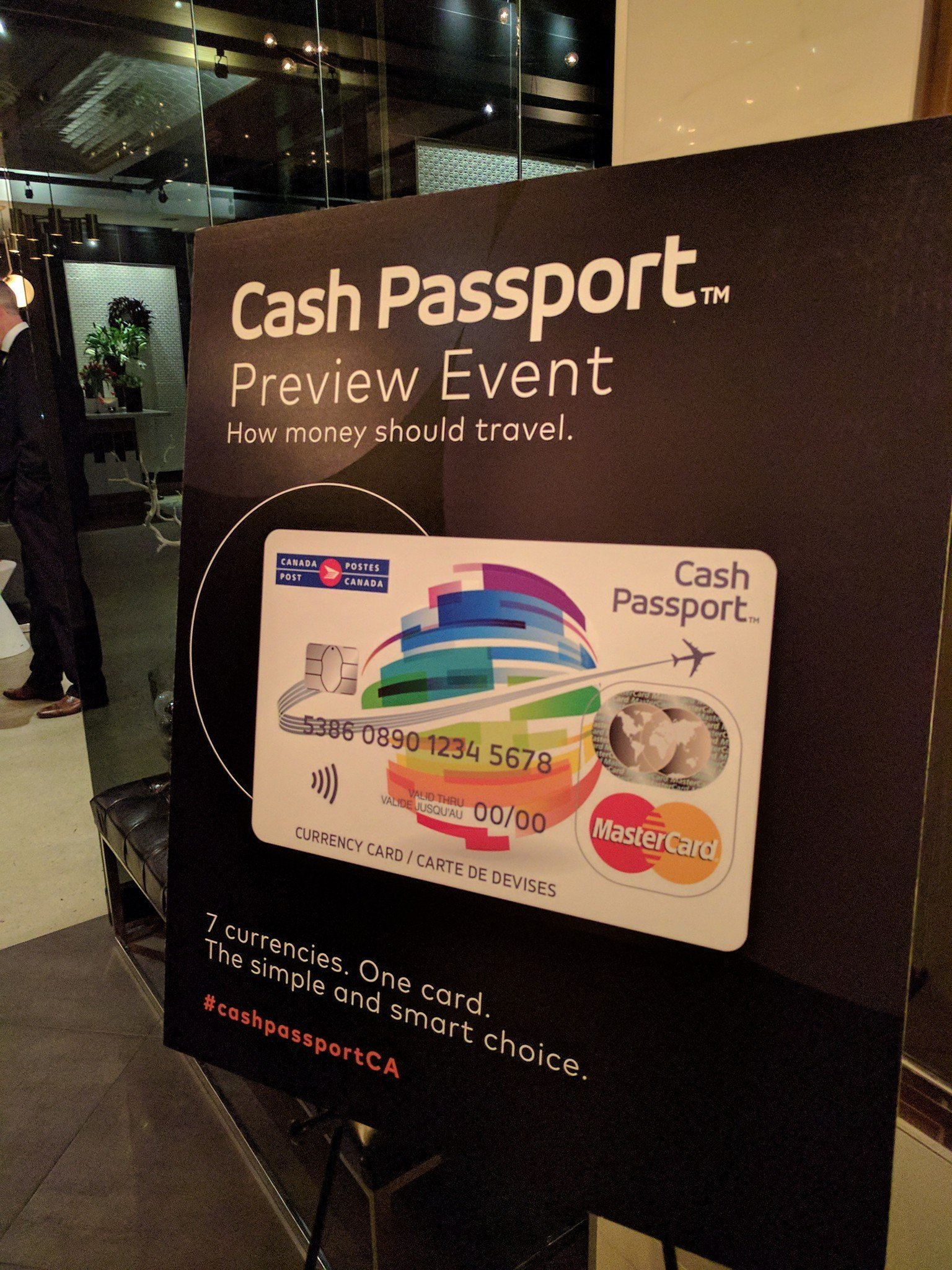 Travelling Foodie attends Mastercard Cash Passport Preview Event