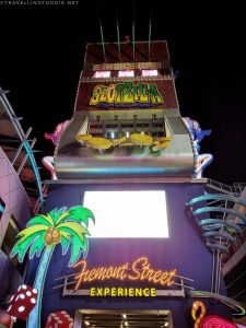 Travelling Foodie Tours Fremont Street Experience