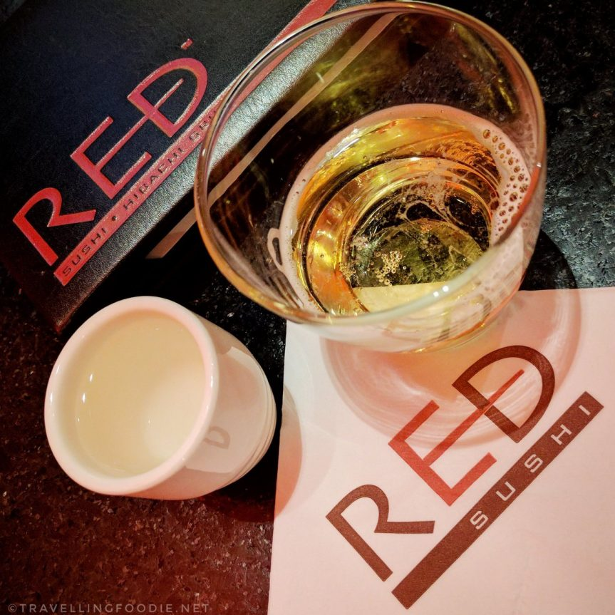 Happy Hour at Red Sushi in Golden Nugget | Las Vegas, Nevada