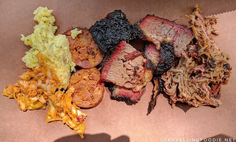 Austin, Texas: Bold Food Tour Day 2 | Gourdough's, Torchy's, La Barbecue, Weige Knives and Olamaie
