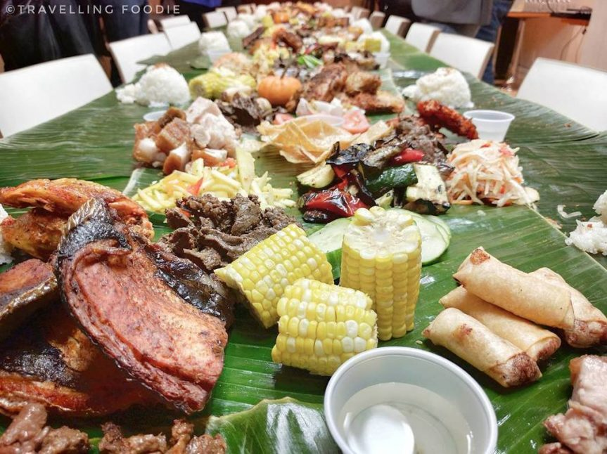 Tita Flips' Early Thanksgiving Kamayan Event