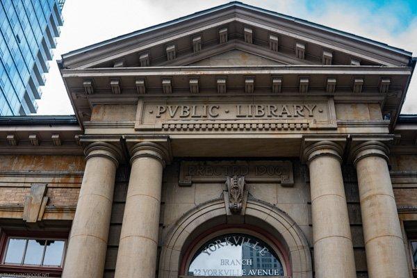 Public Library in Bloor-Yorkville in Toronto, Ontario