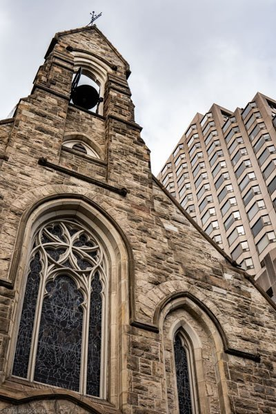 Church of the Redeemer Anglican at Yorkville in Toronto, Ontario