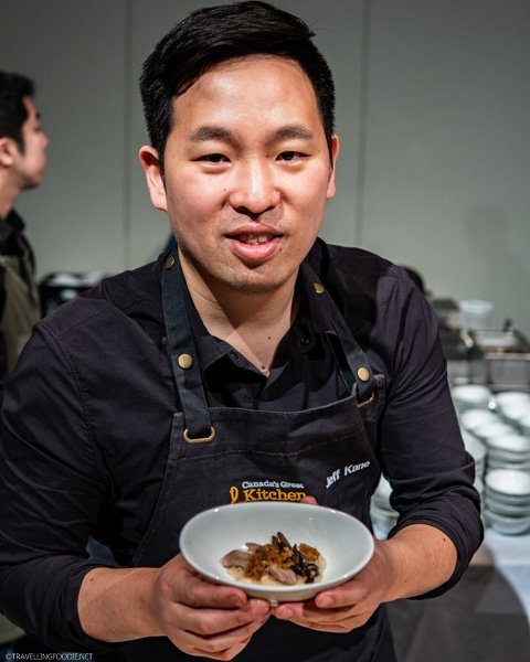 Porridge from Chef Jeff Kang (Canis) at Canada's Great Kitchen Party in Toronto, Ontario