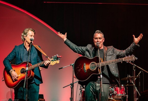 Live performance from Jim Cuddy and Ed Robertson (Barenaked Ladies) at Canada's Great Kitchen Party in Toronto, Ontario