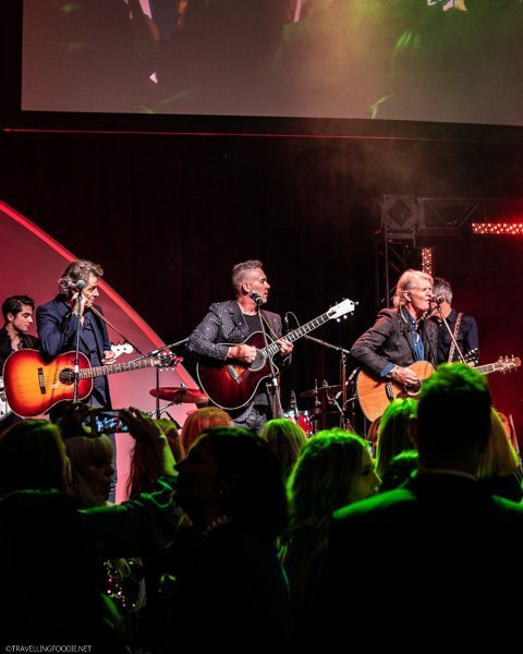 Jim Cuddy, Ed Robertson and Tom Cochrane at Canada's Great Kitchen Party in Toronto, Ontario