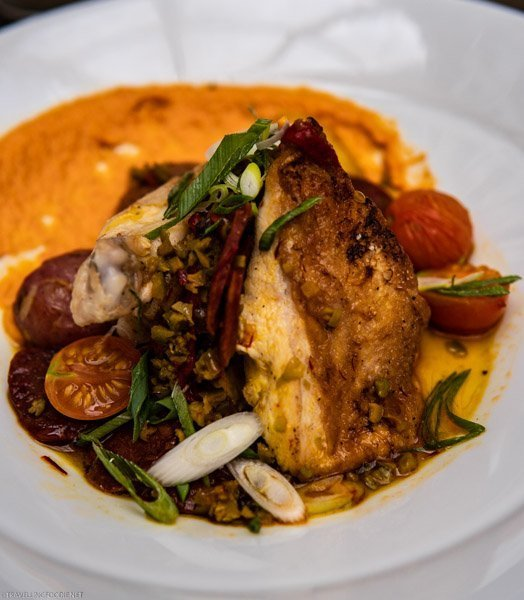 Roast Chicken Breast at Sassafraz Restaurant - Toronto, Ontario