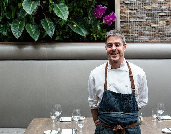 Executive Chef Geoff Webb Sassafraz Restaurant in Toronto, Ontario