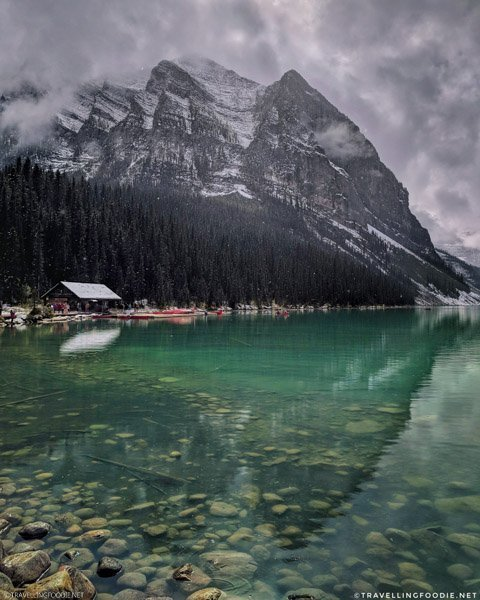 Fairview Mountain at Lake Louise, Banff National Park, Alberta, Canada