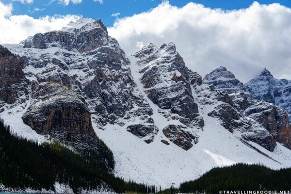 Valley of the Ten Peaks at Moraine Lake in Banff National Park, Alberta, Canada