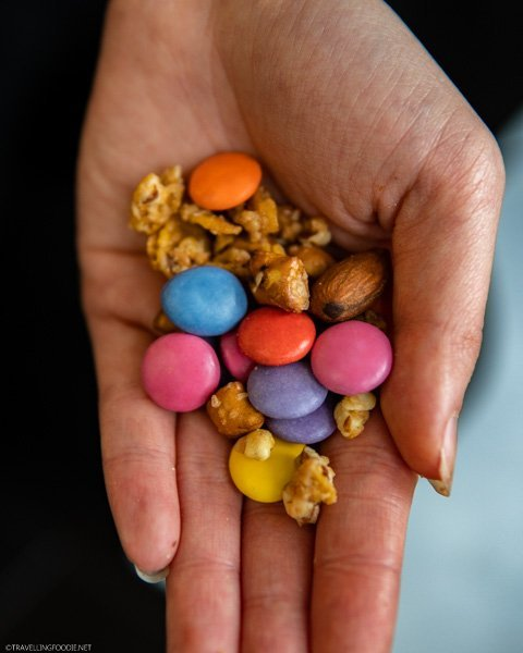 A handful of SMARTIES Snax