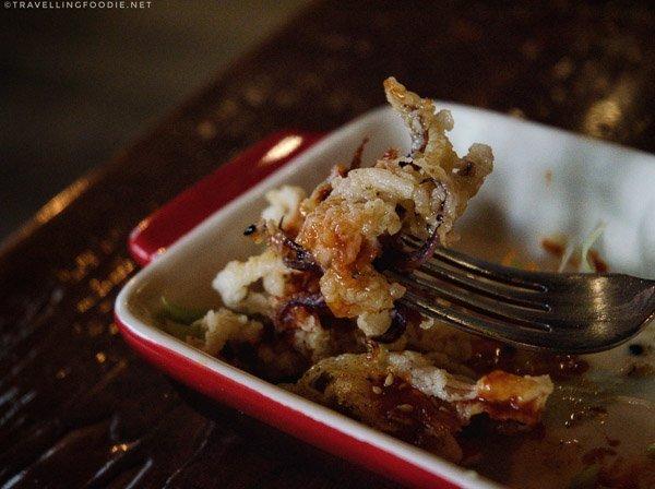 Buttermilk Calamari from 2 Doors Down in Halifax