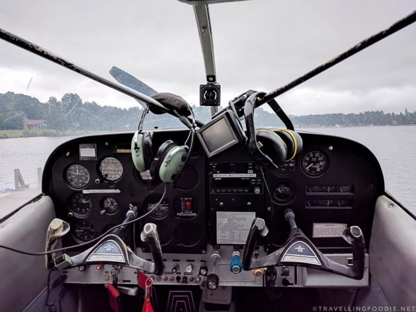 Float plane controls