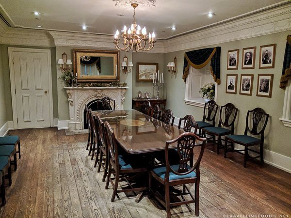 Alexander Keith's Dining Room in Halifax, Nova Scotia