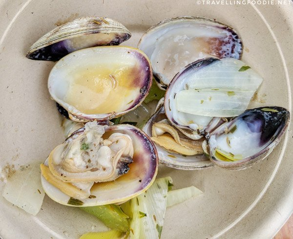 Clam Bake at BC Seafood Expo 2017 in Comox Valley, British Columbia