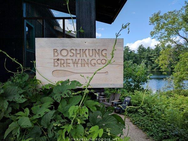 Boshkung Brewing Signage