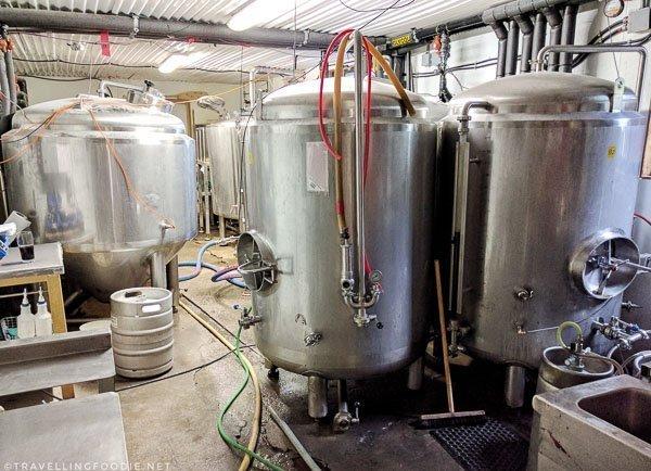 Brewery Tour at Boshkung Brewing in Minden, Ontario