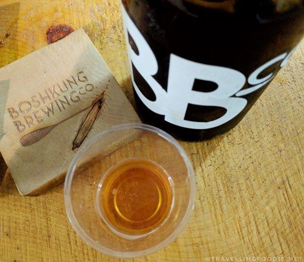 Beer Tasting at Boshkung Brewing in Minden, Ontario