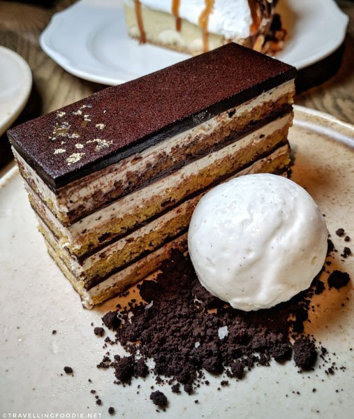 Opera Cake at Bridgette Bar in Calgary, Alberta