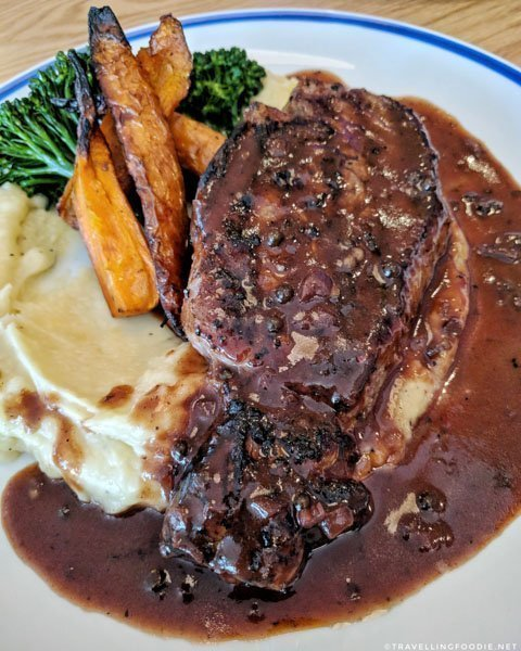 Daily Special Steak at Broken Plate in Calgary, Alberta