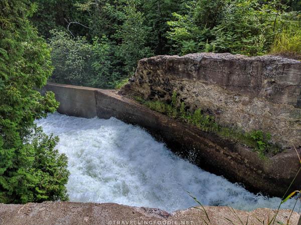 Buttermilk Falls in Algonquin Highlands, Ontario