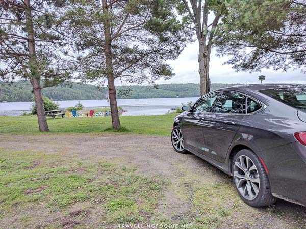 Advantage Car Rental at Cabins at the Domain in Haliburton, Ontario
