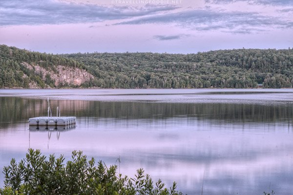 Sunset at Drag Lake