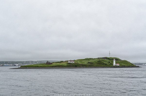 Full View of Georges Island in Halifax, Nova Scotia