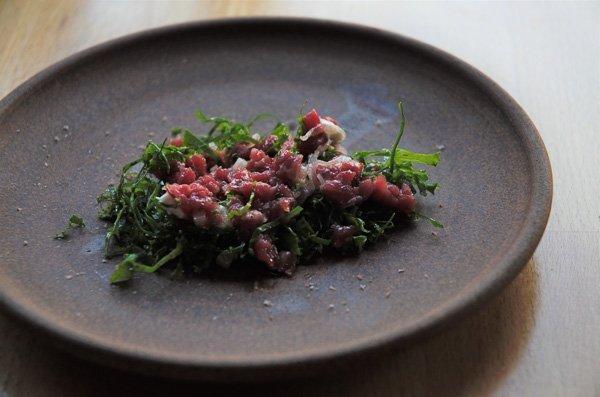 Beef Tartare - Canis Restaurant - Toronto, Ontario, Canada
