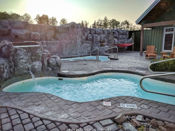 Nordic Baths at Cedar Meadows in Timmins, Ontario