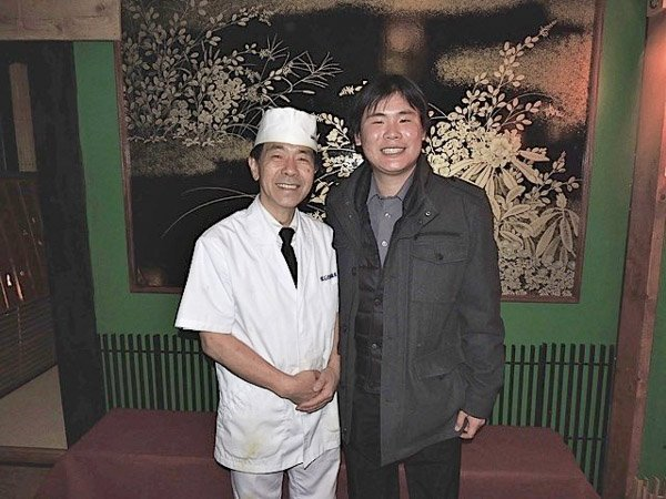 Travelling Foodie Raymond Cua with Chef Masaki Hashimoto in Toronto