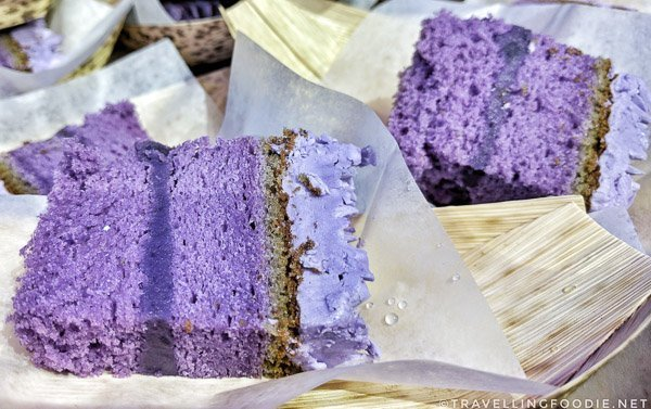 Ube (Purple Yam) Buttercream Cake from Casa Manila at Cuisine & Cuvée