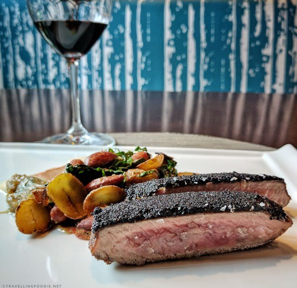 Lamb with wine from Gio at Prince George Hotel in Halifax