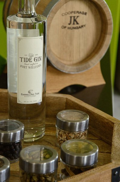 Tide Gin from Barrelling Tide Distillery in Port Williams, Nova Scotia