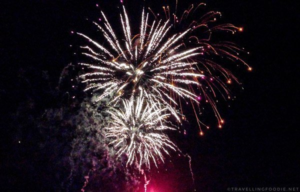 Three Fireworks - Great Canadian Kayak Challenge & Festival - Timmins, Ontario