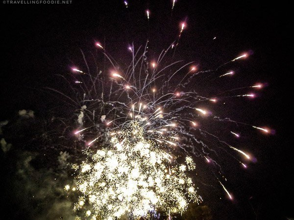 Flashing Fireworks - Great Canadian Kayak Challenge & Festival - Timmins, Ontario