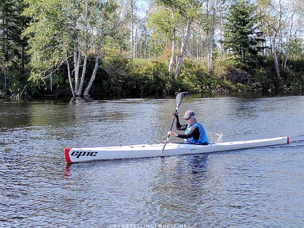 Senior Paddling - Great Canadian Kayak Challenge & Festival - Timmins, Ontario
