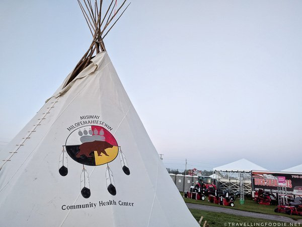Aboriginal Village - Great Canadian Kayak Challenge & Festival - Timmins, Ontario