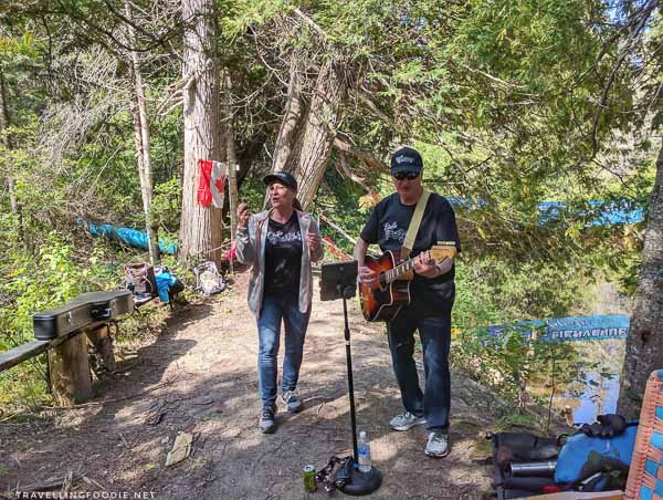 Estelle and John - Great Canadian Kayak Challenge & Festival - Timmins, Ontario - Live Music