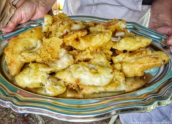 Pickerel Fish Fry Shore Lunch - Great Canadian Kayak Challenge & Festival - Timmins, Ontario