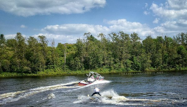 Summer Water Sports Stunt Show - Skiing - Great Canadian Kayak Challenge & Festival - Timmins, Ontario