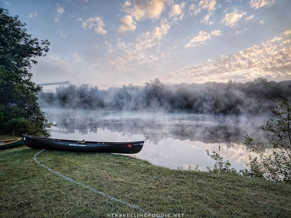 Mattagami River - Great Canadian Kayak Challenge & Festival - Timmins, Ontario - Foggy Sunrise