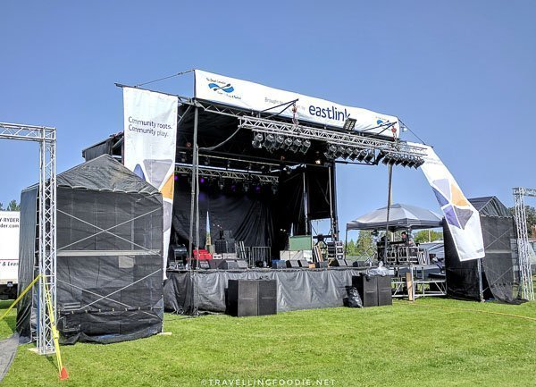 Eastlink Stage - Great Canadian Kayak Challenge & Festival - Timmins, Ontario