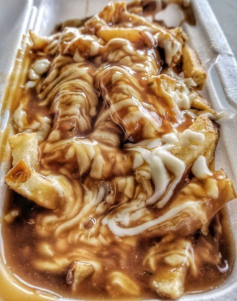 Poutine - McIntyre Catering Services - Great Canadian Kayak Challenge & Festival - Timmins, Ontario