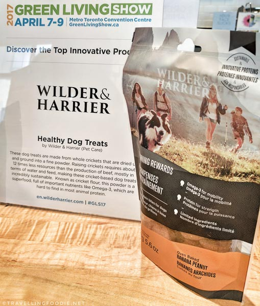 Healthy Dog Treats by Wilder & Harrier at Green Living Show 2017 Media Preview
