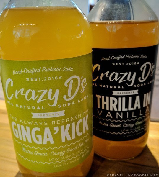Crazy D's All Natural Soda by Crazy D's All-Natural Soda Labs at Green Living Show 2017 Media Preview