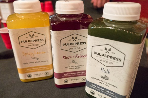 Pulp & Press Cold Pressed Raw Juice at Green Living Show