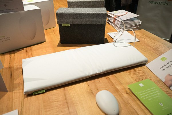 Smart Nora Snoring Solution at Green Living Show
