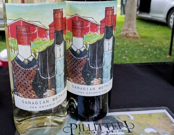Pillitteri Canadian Gothic Red and White Wines